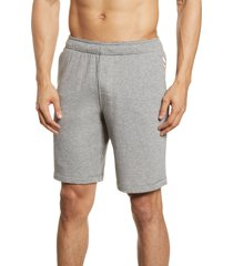 fourlaps rush frech terry shorts, size medium in grey heather at nordstrom