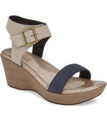 women's naot caprice wedge sandal, size 8us - beige