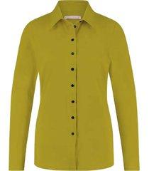 blouse poppy limoen