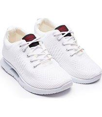tenis hombre fashion blancos color blanco, talla 40