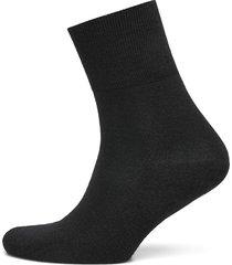 ladies anklesock, terry sole comfort wool sock lingerie socks footies/ankle socks svart vogue