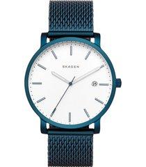 reloj casual azul skagen