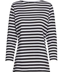 ilma shirt t-shirts & tops long-sleeved multi/patroon marimekko