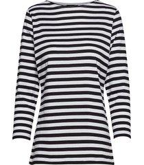 ilma shirt t-shirts & tops long-sleeved multi/patroon marimekko