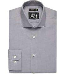 joe joseph abboud repreve® charcoal slim fit dress shirt