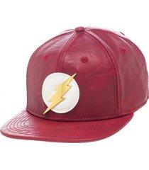 dc comics the flash logo superhero justice league pu snapback cap hat sb2ctedco