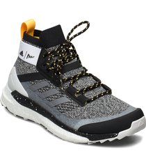 terrex free hiker parley w shoes sport shoes outdoor/hiking shoes grå adidas performance