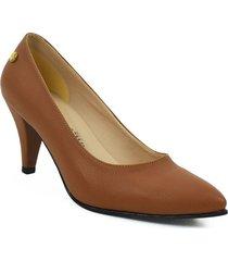 calzado ejecutivo tacon dama 542675miel