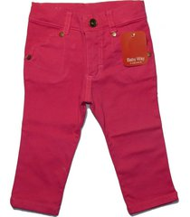 pantalón fucsia b way heart