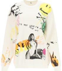 r13 graffiti sweatshirt