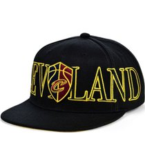 mitchell & ness cleveland cavaliers winners circle snapback cap