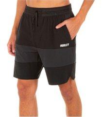 "hurley men's phantom explore apex 17.5"" shorts"