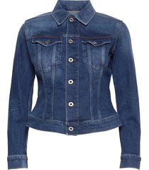 3301 slim jacket jeansjacka denimjacka blå g-star raw
