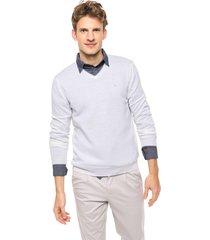 sweater blanco calvin klein smith vneck