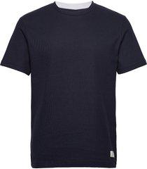 jprblataylor tee ss crew neck t-shirts short-sleeved blå jack & j s