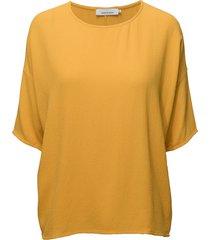 mains tee 5687 blouses short-sleeved gul samsøe samsøe