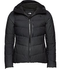 w heavenly down jacket high rise gr outerwear sport jackets zwart the north face