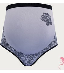 cache coeur zwangerschapsslip illusion lace wit zwart