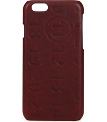 maison margiela men's calf leather iphone 5 case - bordeaux