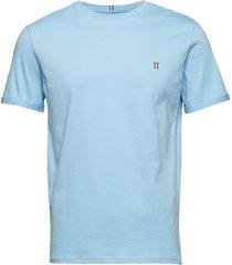nørregaard t-shirt t-shirts short-sleeved blå les deux