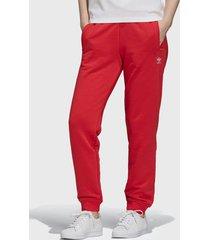pantalón de buzo adidas originals track pant rojo - calce regular