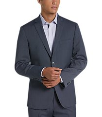 perry ellis premium blue dot extreme slim fit suit