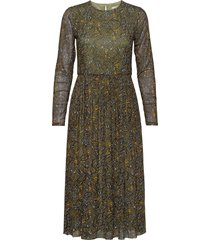 dresses knitted jurk knielengte groen esprit casual