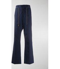 acne studios jupiter drawstring-waist trousers