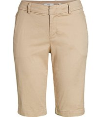 side buckle cargo bermuda shorts
