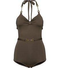 magnolia swimsuit badpak badkleding groen ida sjöstedt