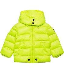 jianb jacket gevoerd jack geel diesel