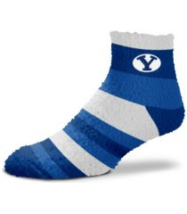 for bare feet byu cougars fbf rainbow sleepsoft socks