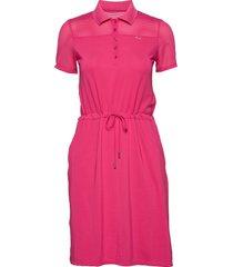 miko dress korte jurk roze röhnisch