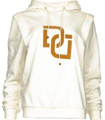 sweater met tekstopdruk vote  wit