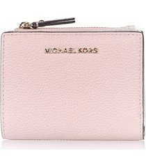 michael kors wallet in soft pink leather