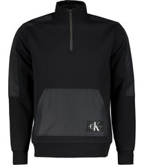 calvin klein sweater - slim fit - zwart