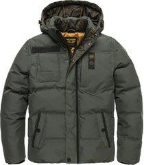 pme legend pja206105 6026 hooded jacket poly micro foam snowburst 3.0 green