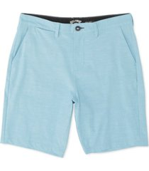 billabong men's new order heathered hybrid shorts