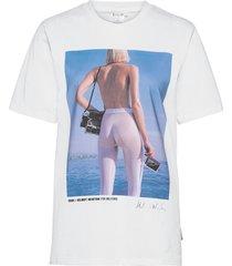 newton t-shirt t-shirts & tops short-sleeved vit wolford