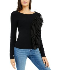 inc layered ruffle sweater, created for macy's
