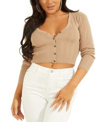 guess camille v-neck cardigan