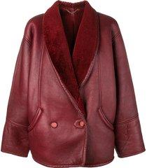 a.n.g.e.l.o. vintage cult 1980's oversized jacket - red
