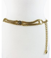 women's lion head curb link chain