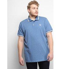 camisa polo gajang euro constance plus size masculina