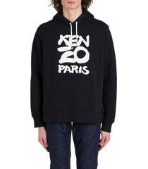 kenzo new logo hoodie