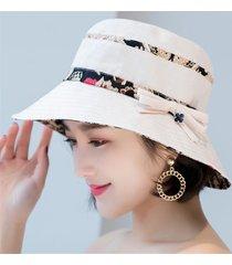 cappello estivo da donna in cotone con cappello a forma di fiore, cappello da spiaggia traspirante