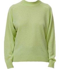 cozy cashmere crewneck sweater