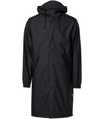 rains regenjas parka fishtail black