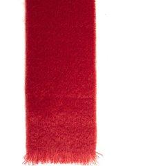 doppiaa scarf mohair monocolor