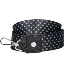 straps cartera stars negro zappa